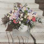 composition cadeau fleurs